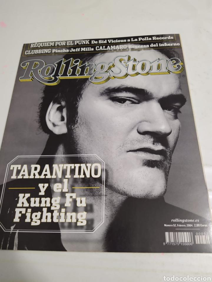 REVISTA ROLLING STONES - NUM 52 - QUENTIN TARANTINO (Música - Revistas, Manuales y Cursos)