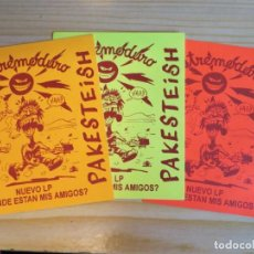 Revistas de música: EXTREMODURO: LOTE BACKSTAGES !!!. Lote 245257755