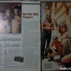 Revistas de música: RED HOT CHILI PEPPERS COLECCIÓN DE ARTÍCULOS, REPORTAJES Y REVISTA. Lote 245411745