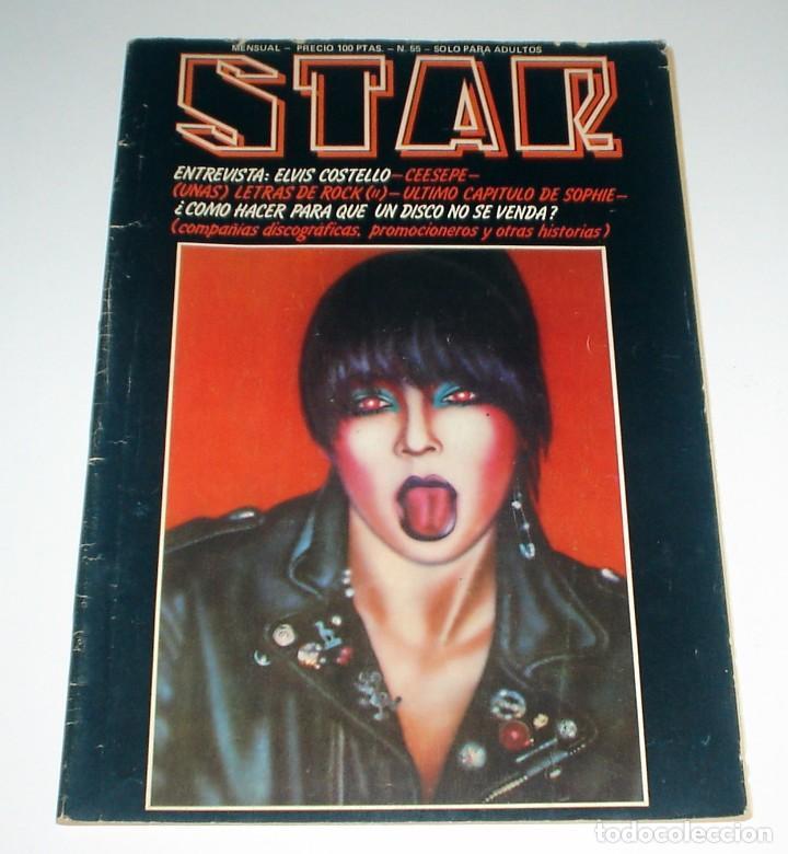REVISTA MUSICAL STAR Nº 55 - FEBRERO DE 1980 (Música - Revistas, Manuales y Cursos)