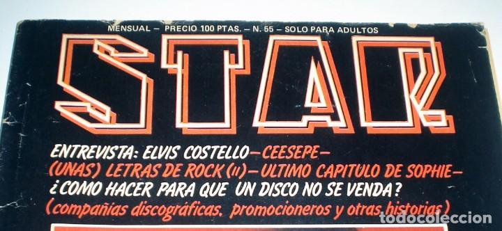 Revistas de música: REVISTA MUSICAL STAR Nº 55 - FEBRERO DE 1980 - Foto 2 - 245572725