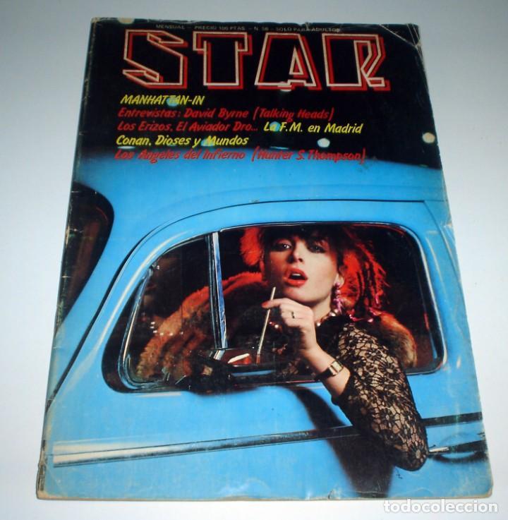 REVISTA STAR Nº 56 - MARZO DE 1980 AVIADOR DRO (Música - Revistas, Manuales y Cursos)