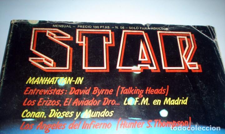 Revistas de música: REVISTA STAR Nº 56 - MARZO DE 1980 AVIADOR DRO - Foto 2 - 245572935
