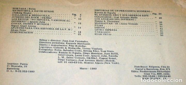 Revistas de música: REVISTA STAR Nº 56 - MARZO DE 1980 AVIADOR DRO - Foto 3 - 245572935