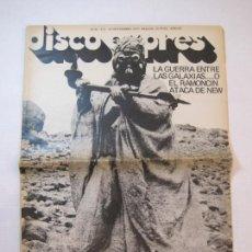 Revistas de música: DISCO EXPRES-NUM 452-AÑO 1977-STAR WARS-GUERRA ENTRE LAS GALAXIAS O RAMONCIN...-VER FOTOS-(V-22.553). Lote 245631145