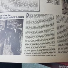 Revistas de música: NOTICIAS DE LOS RELAMPAGOS. Lote 245900090