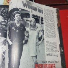 Revistas de música: DESILUSIONES Y SUEÑOS ROTOS PAUL MCCARTNEY EX BEATLE. Lote 245900575