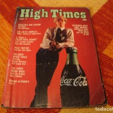 Revistas de música: HIGH TIMES 1977 ANDY WARHOL KISS PARLIAMENT ANUNCIOS PSICODÉLICOS DROGAS FREAK BROS DOLLY PARTON. Lote 246120055