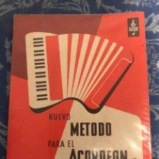 Riviste di musica: NUEVO MÉTODO PARA EL ACORDEÓN A PIANO. Lote 246318770