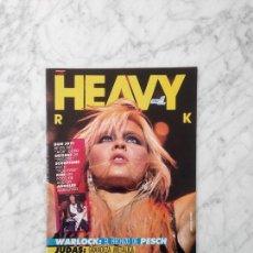 Revistas de música: HEAVY ROCK - Nº 39 - 1986 SCORPIONS, ANGELES DEL INFIERNO, IRON MAIDEN, JUDAS PRIEST, WARLOCK, KISS. Lote 247185540