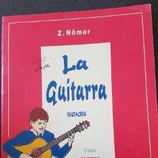 Revistas de música: LA GUITARRA INICIACIÓN LIBRO DE Z. NÖMAR REAL MUSICAL. Lote 247319550