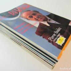 Revistas de música: LOTE REVISTAS RITMO. AÑO 1992 COMPLETO. Lote 248187505