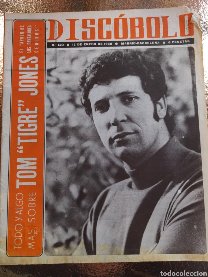 REVISTA MUSICAL DISCOBOLO. N°140 .1968 (Música - Revistas, Manuales y Cursos)