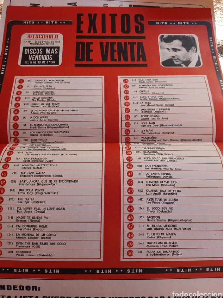 Revistas de música: Revista musical Discobolo n°141 . 1968 - Foto 2 - 248193645