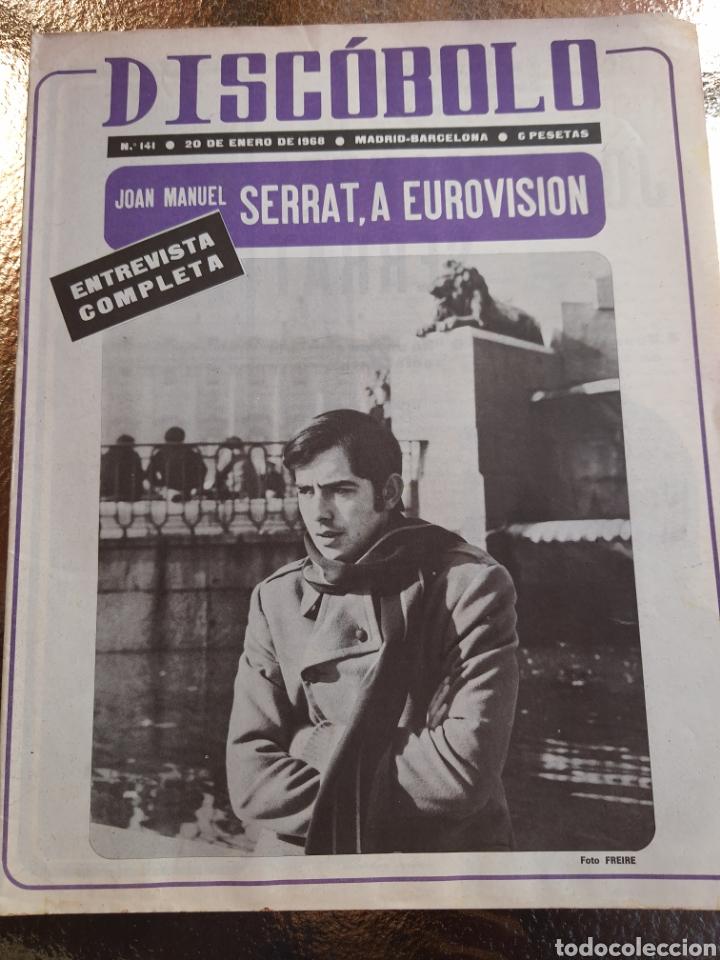 REVISTA MUSICAL DISCOBOLO N°141 . 1968 (Música - Revistas, Manuales y Cursos)