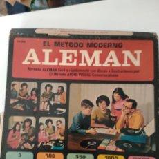 Revistas de música: MÉTODO MODERNO ALEMÁN. DISCOS PARA APRENDER ALEMÁN.. Lote 252001185