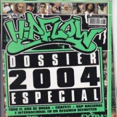 Revistas de música: REVISTA HIP FLOW, SOBRE EL HIP HOP, NUMERO 5. AÑO 2004.. Lote 252736395