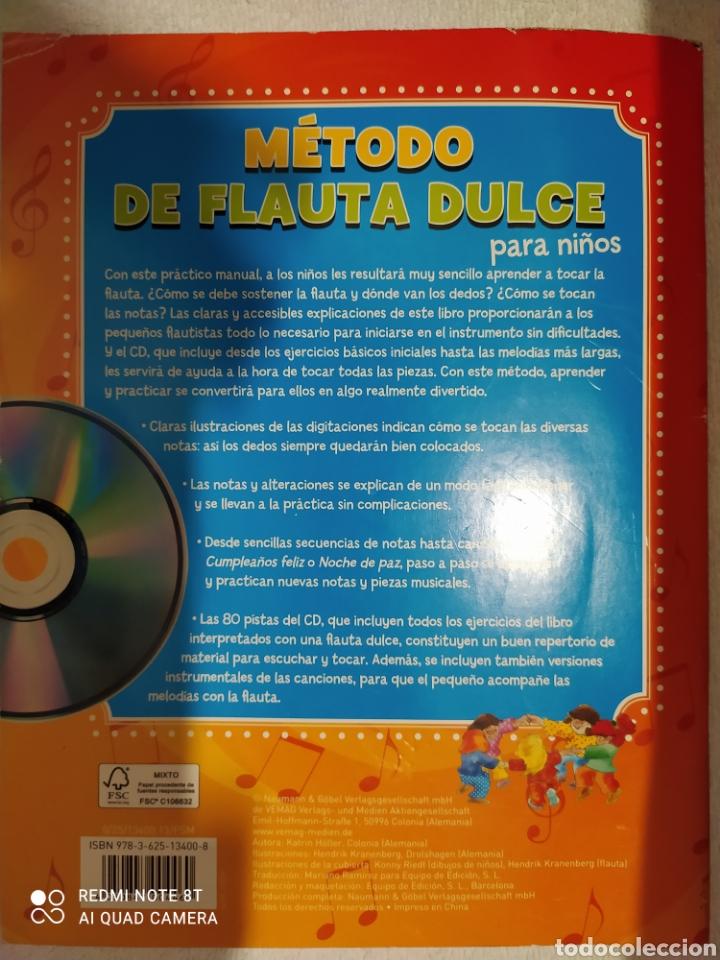 Revistas de música: Método de flauta dulce para niños con cd - Foto 2 - 253559485