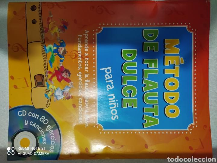 MÉTODO DE FLAUTA DULCE PARA NIÑOS CON CD (Música - Revistas, Manuales y Cursos)