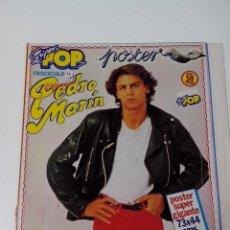 Revistas de música: REVISTA SUPER POP POSTER SUPER GIGANTE 73X44 CMS PEDRO MARIN FASCICULO 14. Lote 254096955