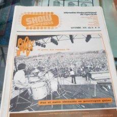 Revistas de música: ANTIGUA REVISTA ESPECTACULO SHOW PRESS SIREX 1978 42. Lote 254508290