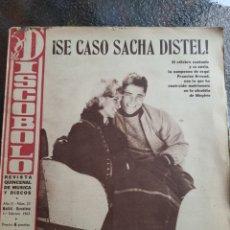 Revistas de música: REVISTA MUSICAL DISCOBOLO. ABRIL 1963. Lote 254597455