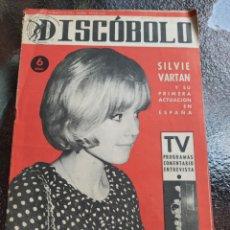 Revistas de música: REVISTA MUSICAL DISCOBOLO. MARZO 1964. Lote 254597630