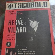 Revistas de música: REVISTA MUSICAL DISCOBOLO. FEBRERO 1966. Lote 254597895