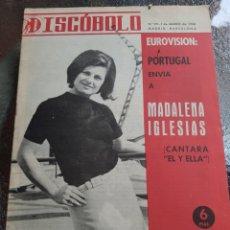 Revistas de música: REVISTA MUSICAL DISCOBOLO. MARZO 1966. Lote 254598105
