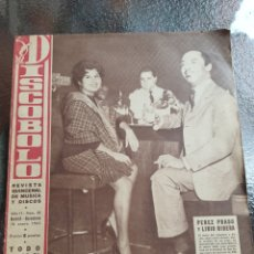 Revistas de música: REVISTA MUSICAL DISCOBOLO. ENERO 1963. Lote 254598330