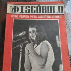 Revistas de música: REVISTA MUSICAL DISCOBOLO. AGOSTO 1964. Lote 254604190