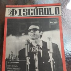 Revistas de música: REVISTA MUSICAL DISCOBOLO. AGOSTO 1964. Lote 254604585