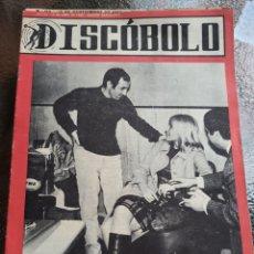 Revistas de música: REVISTA MUSICAL DISCOBOLO. ABRIL 1965. Lote 254604760