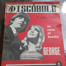 Revistas de música: REVISTA MUSICAL DISCOBOLO. FEBRERO 1966. Lote 254604955