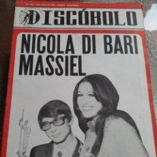 Revistas de música: REVISTA MUSICAL DISCOBOLO. JULIO 1966. Lote 254605185