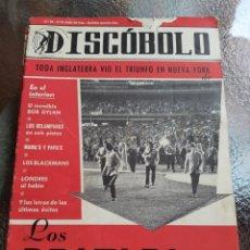 Revistas de música: REVISTA MUSICAL DISCOBOLO. ABRIL 1966. LOS BEATLES.. Lote 254605620