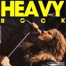 Revistas de música: REVISTA HEAVY ROCK NUMERO 3 DAVID COVERDALE. Lote 254642845
