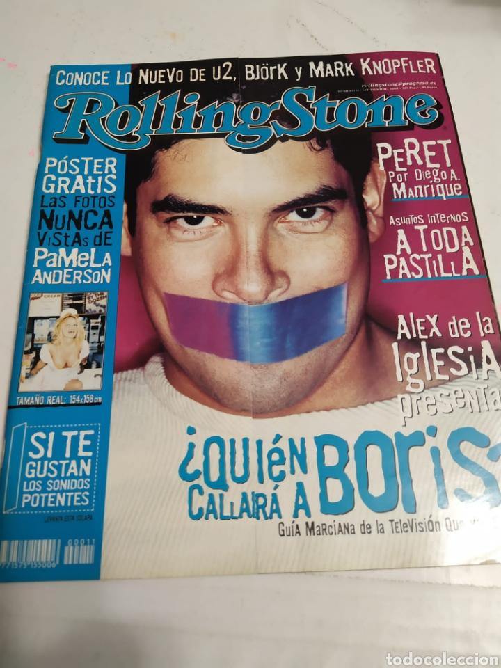 REVISTA ROLLING STONES - NUM 11 ( SEPT 2000 ) - BORIS IZAGUIRRE - PAMELA ANDERSON (Música - Revistas, Manuales y Cursos)
