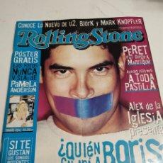 Revistas de música: REVISTA ROLLING STONES - NUM 11 ( SEPT 2000 ) - BORIS IZAGUIRRE - PAMELA ANDERSON. Lote 255384305
