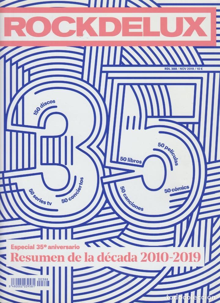 REVISTA ROCK DE LUX NÚMERO 388 NOVIEMBRE 2019 (Música - Revistas, Manuales y Cursos)