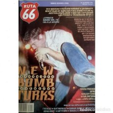 Revistas de música: REVISTA RUTA 66 #104 . NEW BOMB TURKS SEX MUSEUM RICHARD BARONE JACKKNIFE. Lote 257327830