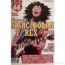 Revistas de música: REVISTA RUTA 66 #136 . MARC BOLAN T. REX SADOMASO JANE'S ADDICTION YO LA TENGO. Lote 257329135