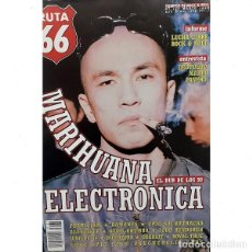 Revistas de música: REVISTA RUTA 66 #137 . MARIHUANA ELECTRONICA LUCHA LIBRE ROCK AND ROLL RAMONES. Lote 257331340