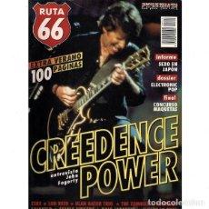 Revistas de música: REVISTA RUTA 66 #141 . CREEDENCE CLEARWATER REVIVAL ZEKE LOU REED ZOMBIES CALEXICO. Lote 257332415