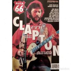 Revistas de música: REVISTA RUTA 66 #143 . ERIC CLAPTON BEATLES JOE MEEK POSIES HUMJPERS HOT DOGS. Lote 257333455