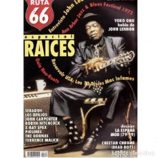 Revistas de música: REVISTA RUTA 66 #148 . JOHN LEE HOOKER YOKO ONO DEAD BOYS SEBADOH DONNAS. Lote 257334435