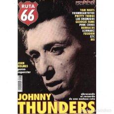 Revistas de música: REVISTA RUTA 66 #149 . JOHNNY THUNDERS JOHN HOLMES TOM WAITS PRETTY THINGS. Lote 257335180