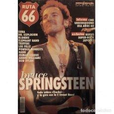 Revistas de música: REVISTA RUTA 66 #151 . BRUCE SPRINGSTEEN LUNA DR. EXPLOSION BLONDIE ELEPHANT BAND. Lote 257336165