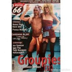 Revistas de música: REVISTA RUTA 66 #152 . GROUPIES PUNK ROCK JON SPENCER IGGY POP TODD RUNDGREN. Lote 257336800