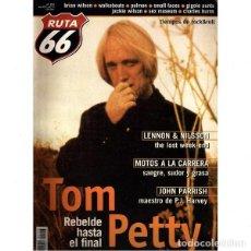 Revistas de música: REVISTA RUTA 66 #153 . TOM PETTY LENNON NILSSON JOHN PARRISH BRIAN WILSON PULMON. Lote 257337355